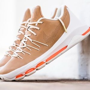 Nike KD 8 EXT Vachetta Tan Leather Sneakers